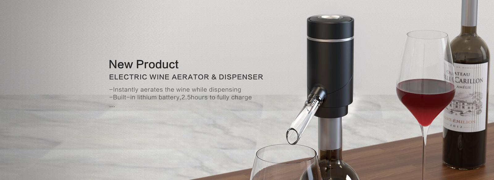 KLT Electric Wine Aerator & Dispenser