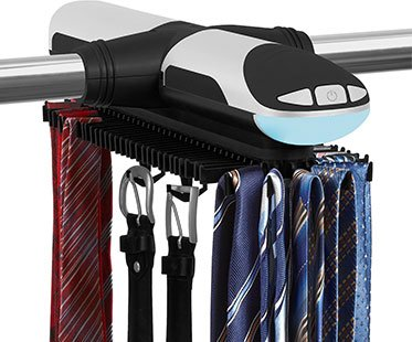 Motorized Tie Belt Rack