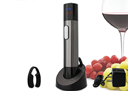 2-In-1 Stainless Rechargeable Wine Opener With Thermometer NS-7